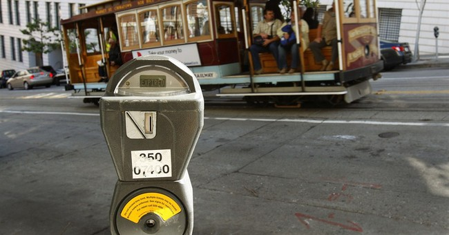 San Francisco to app: Curb parking space auctions