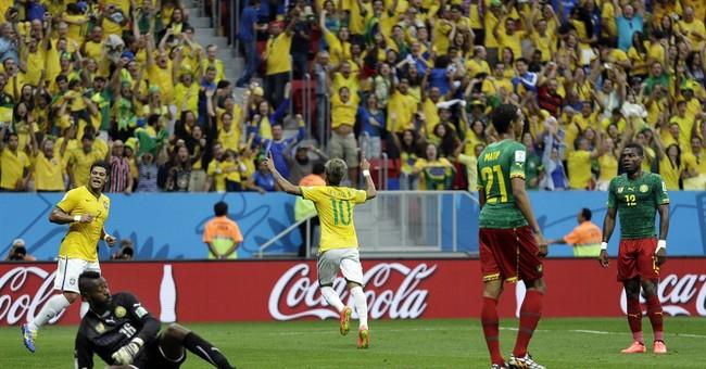 Neymar leads Brazil; Mexico also through