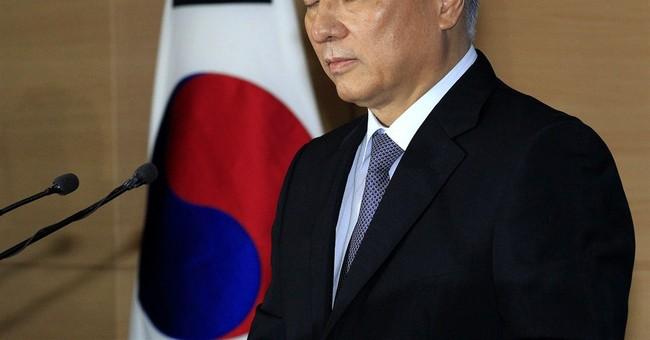 S. Korea's prime minister-nominee withdraws