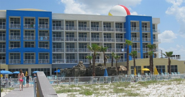 Resort hotel also serves as military test site