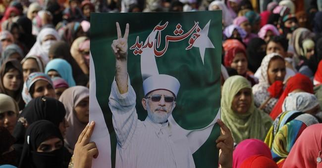 Pakistan diverts cleric's plane to Lahore