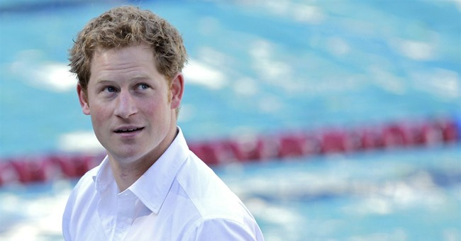 Prince Harry visits Olympic base in World Cup city