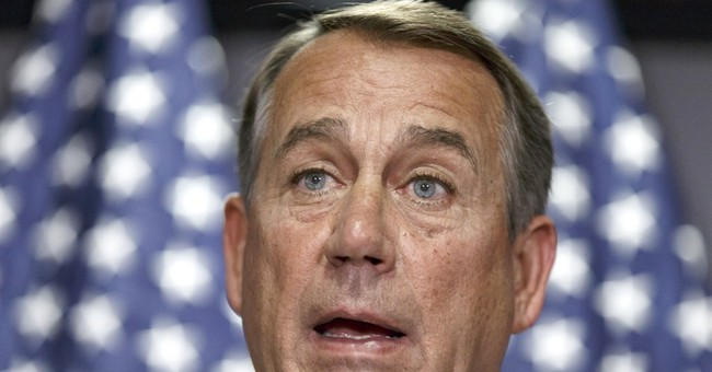 Boehner says he's 'all in' to remain as speaker