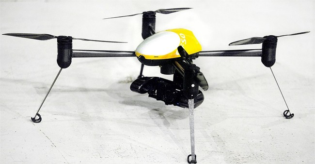 Crimes to crops: Drone display shows potential use