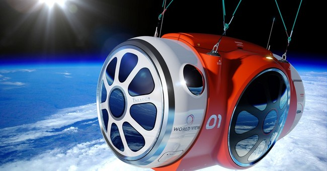 Company successfully tests space-tourism balloon