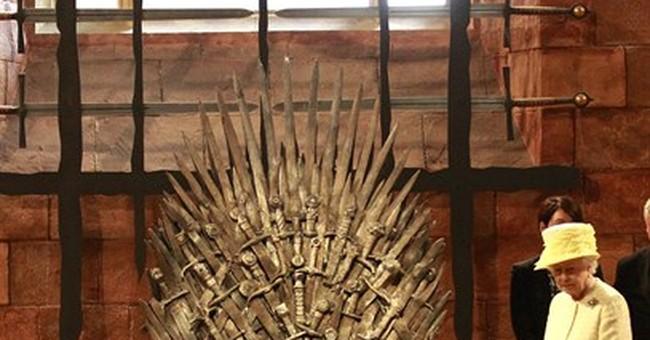 UK queen visits Belfast set of 'Game of Thrones'