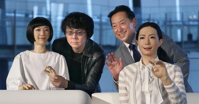 Woman or machine? New robots look creepily human