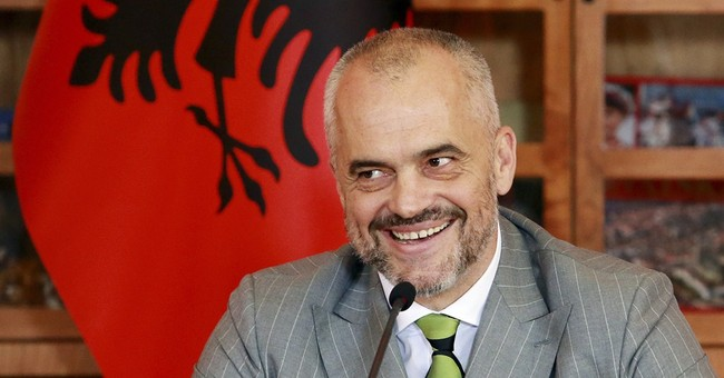 Albania clears 1st hurdle to EU membership