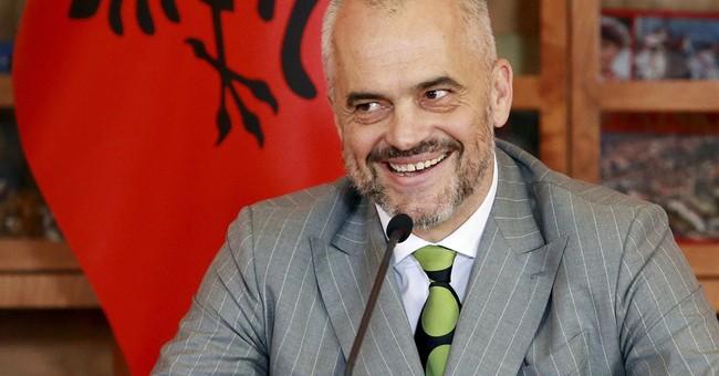 Albania clears 1st hurdle to EU membership