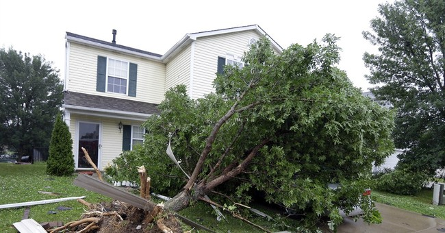 Storm damages homes in Indianapolis, outskirts