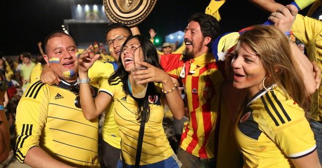 BRAZIL BEAT: Colombia, Uruguay fans start talk