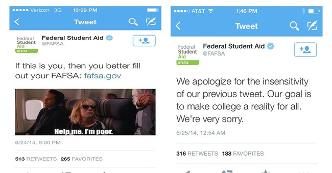 Education Dept. removes tweet with movie scene