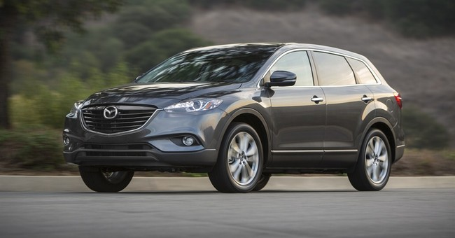 Mazda's biggest SUV, CX-9, is a nimble handler