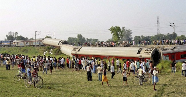 Indian trains derail, killing 4; sabotage probed