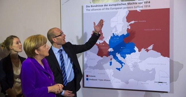 For Obama, Putin, Merkel: WWI is family history
