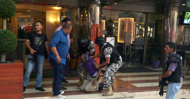 Explosion rocks Beirut hotel during security raid