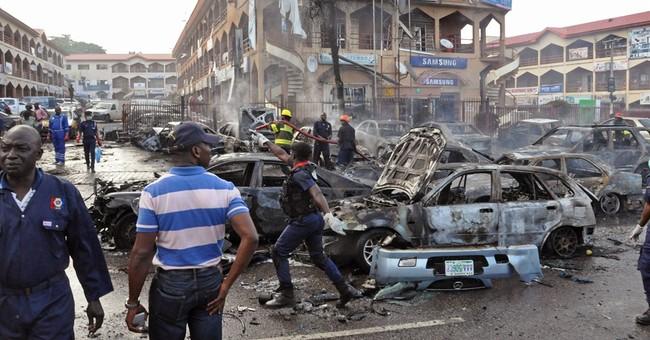Explosion rocks mall in Nigerian capital