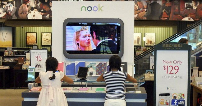Barnes & Noble to separate retail, Nook Media