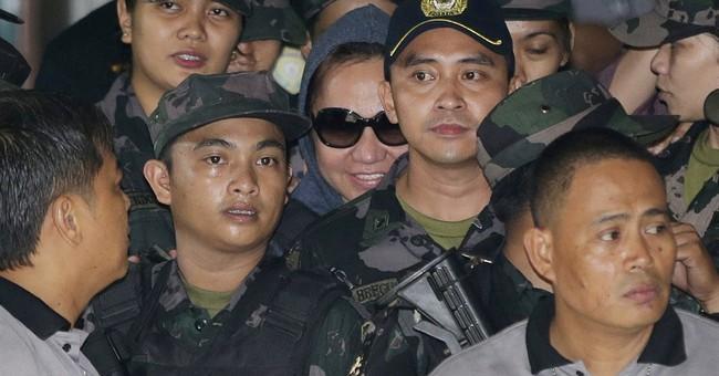 Celebrity senator gets not guilty plea in Manila