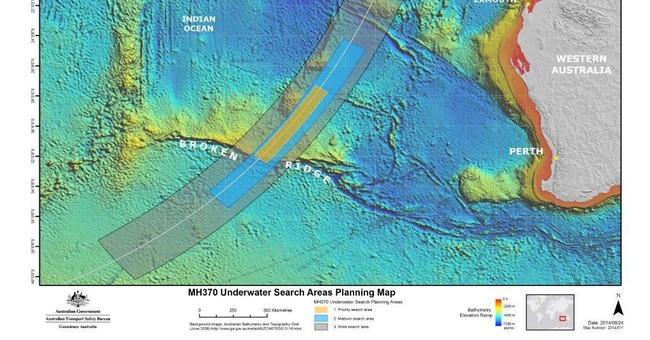 Search for missing Malaysian plane shifts south