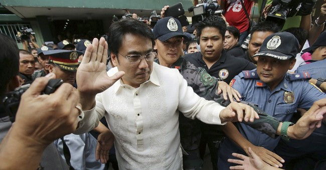 Celebrity senator gets not guilty plea in Manila