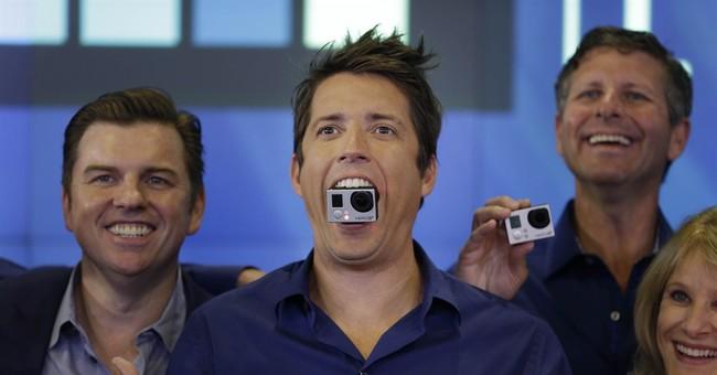 GoPro goes public: Camera maker up 30 percent