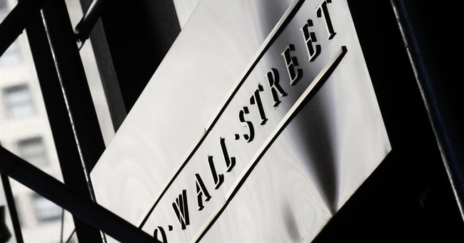 Stocks move lower on Wall Street, led by banks