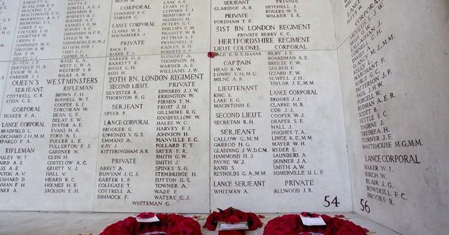 Mourning millions: EU leaders mark WWI centennial