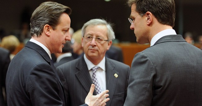 Britain's Cameron isolated in EU leader search