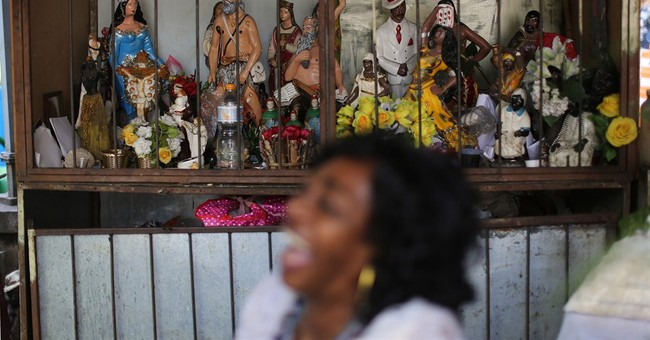 'Candomble' seer says gods with Brazil team
