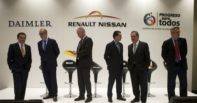 Carmakers to build $1.4 billion Mexico plant