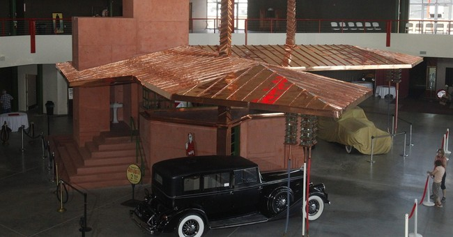 Transportation museum builds Wright gas station