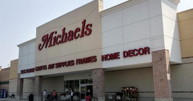 Michaels has tepid return to public markets