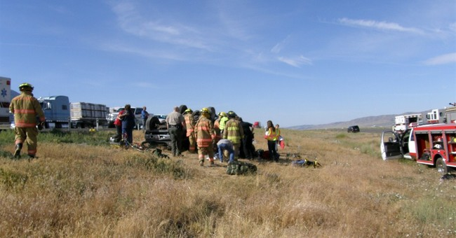 Boy Scouts help at scene of deadly Utah crash