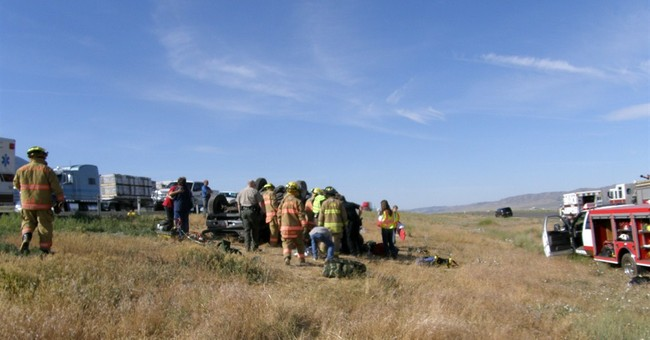 Boy Scouts help at scene of deadly Utah crash
