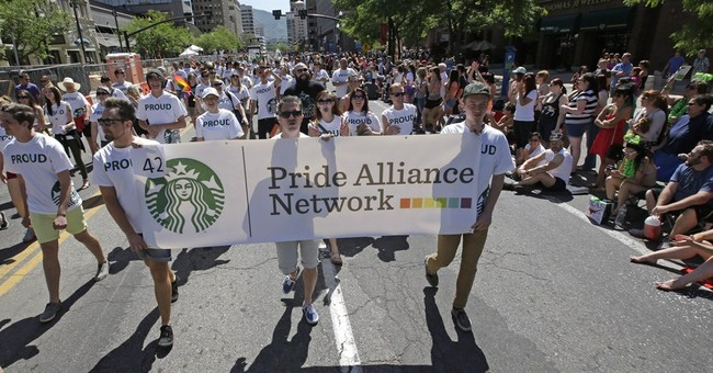 Sponsorship of gay pride parades on the rise