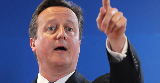 UK's Cameron hopes defeat abroad helps at home
