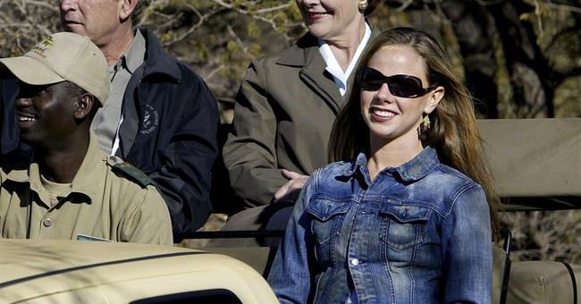 Bush's daughter leads global health group