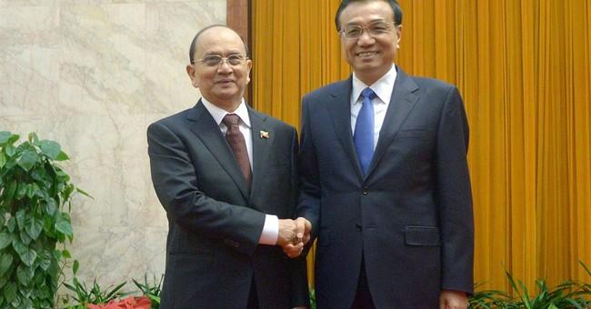 China says it will never seek regional hegemony