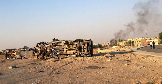 Iraq forces launch push for insurgent-held city