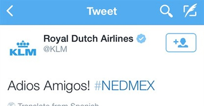 Bad Tweet: Dutch airline angers Mexico soccer fans