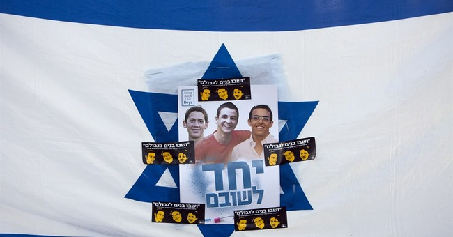 Thousands of Israelis rally for abducted youths
