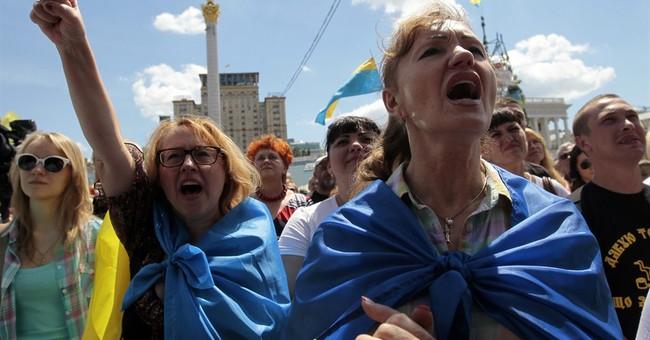 Ukraine president talks to Putin, Merkel, Hollande
