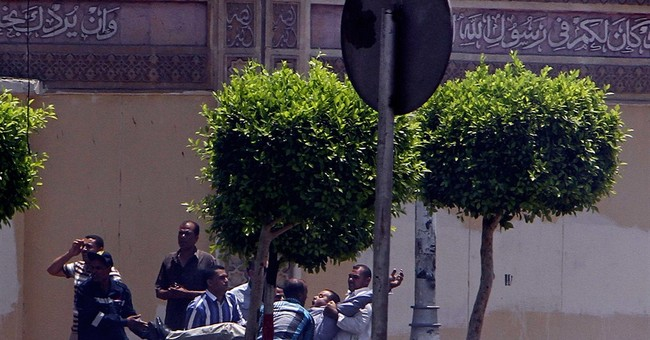 Egypt group claims palace blasts that killed 2