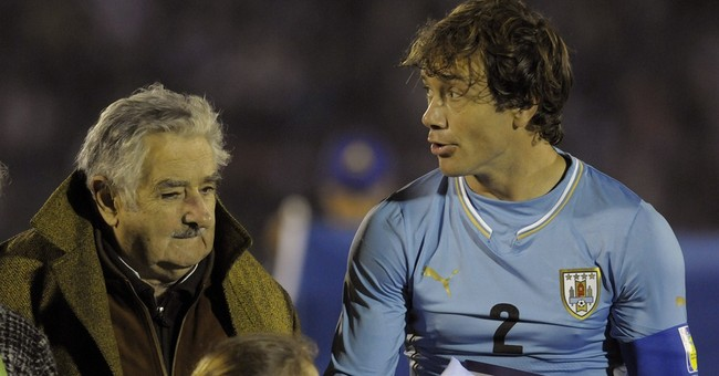 Uruguay president blasts FIFA ban as 'fascist'