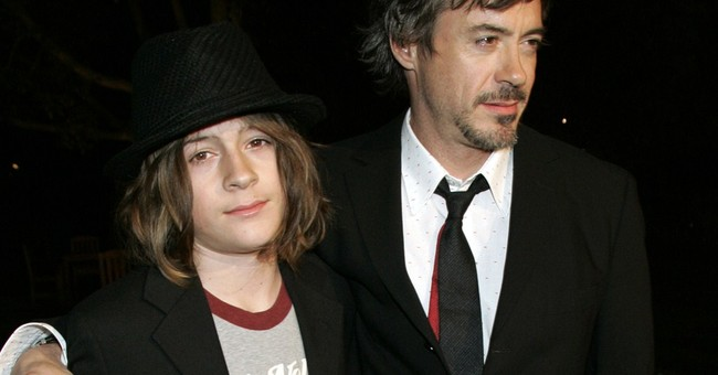 Robert Downey Jr.'s son arrested in drug case