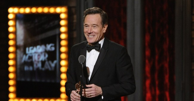 Bryan Cranston leaves 'All the Way' on a new high