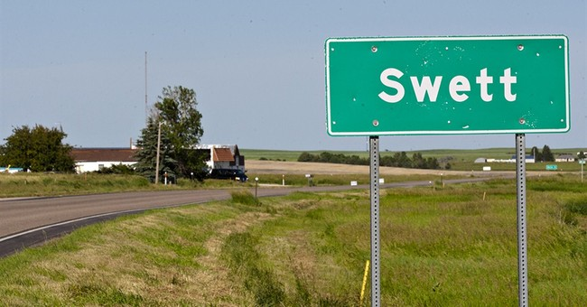 For sale: Small South Dakota town, bar included