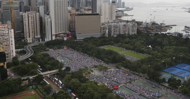 Police arrest 511 after big HK democracy rally