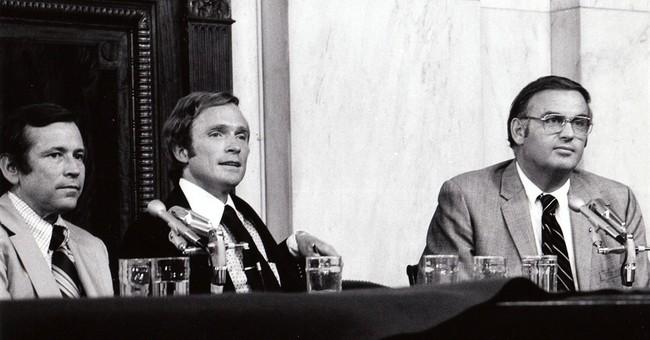 Watergate as seen through eyes of Dick Cavett show